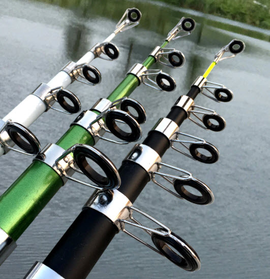 telescopic fishing pole